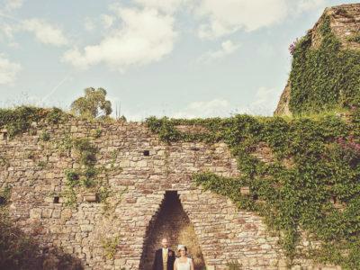 South Wales Wedding Photographer : Usk Castle Wedding - Stewart & Silvia